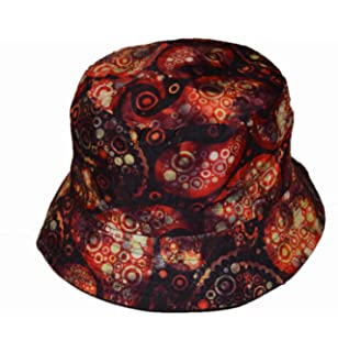 2d2a18e25a8 Wigwam Nice reversible Paisley pattern Cotton Bucket hat Multi