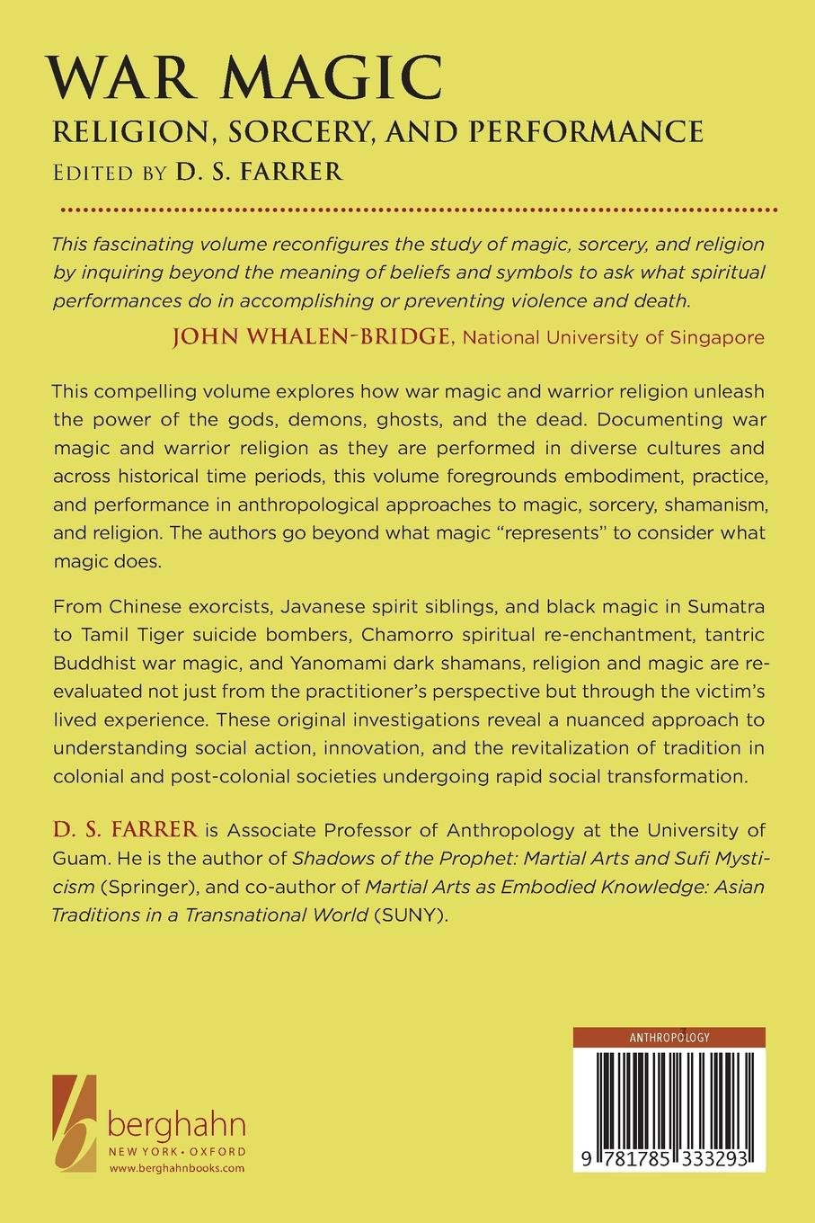Buy War Magic: Religion, Sorcery, and Performance Book