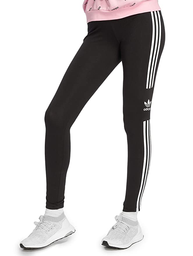adidas Damen Trefoil Leggings (Tights) Schwarz