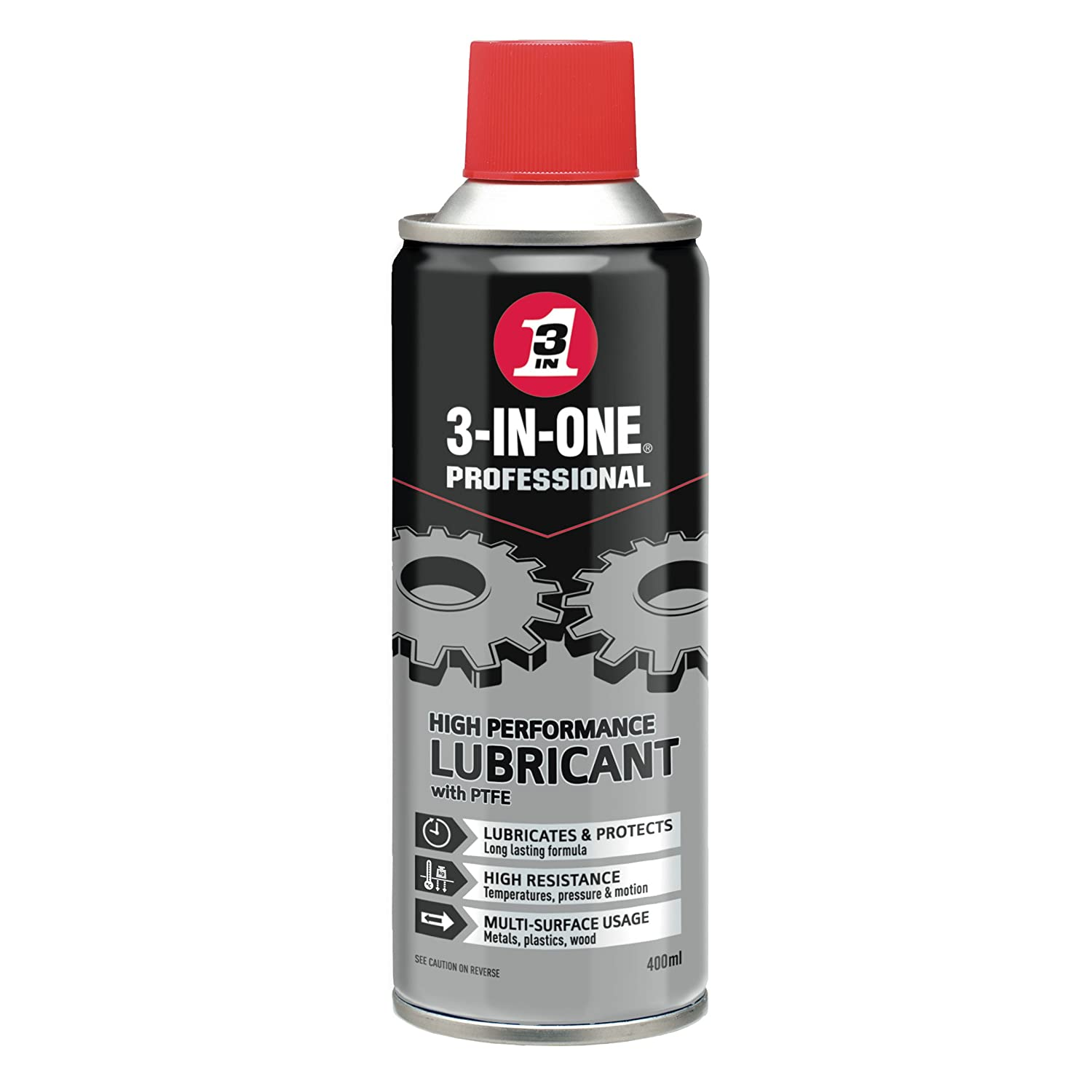 3-IN-ONE Professional High Performance Lubricant  400ml WD40D N/A