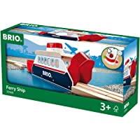 Brio-33569 Juego Primera Edad, Negro, Rojo, Color Blanco, Madera (33569)