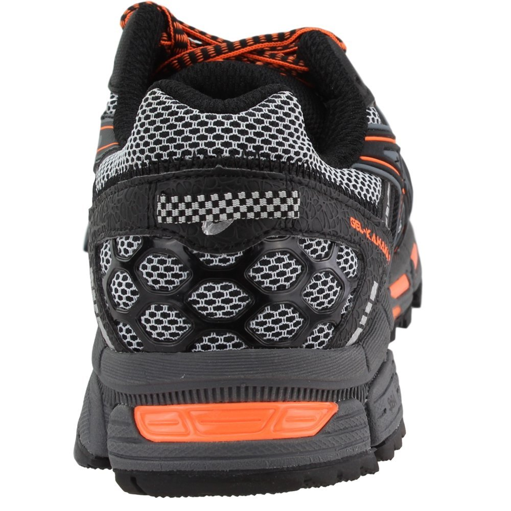 ASICS Mens Gel-Kahana 8 Running Shoe Black/Hot Orange/Carbon 6.5 Medium US by ASICS (Image #3)