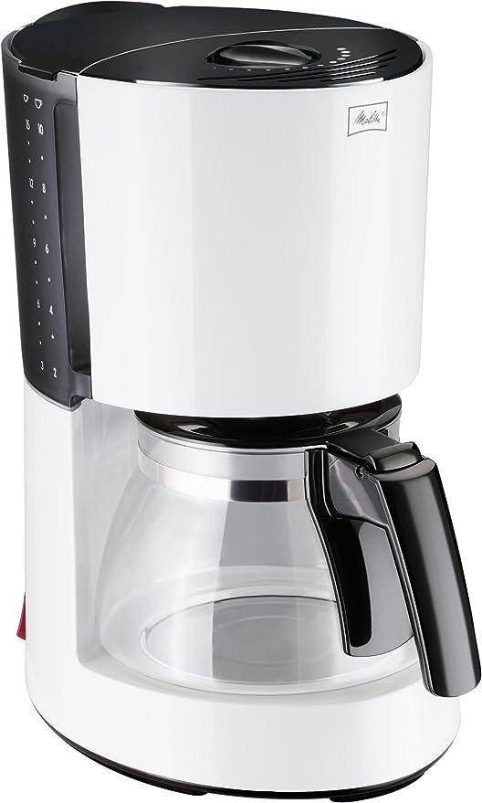 Melitta Enjoy 100201 - Cafetera de filtro, Aromaselector, negra ...