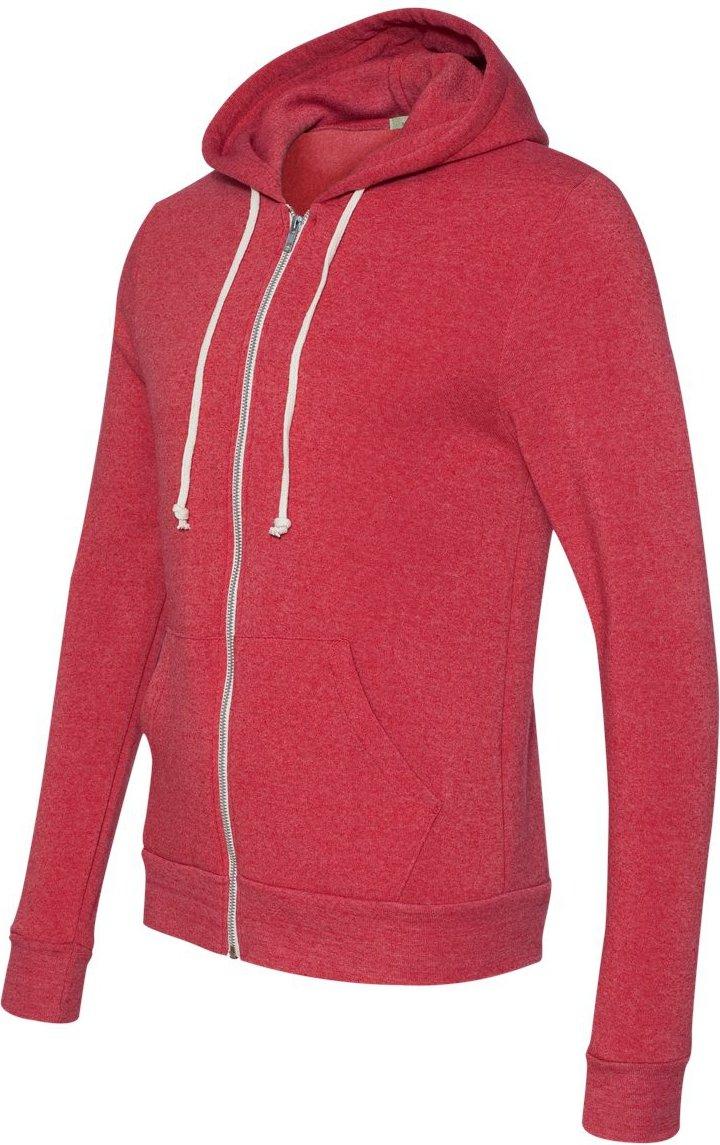 (オルタナティブ)Alternative Rocky Eco-Fleece Zip Hoodie B01MRRXVD5 S|Eco True Red Eco True Red S