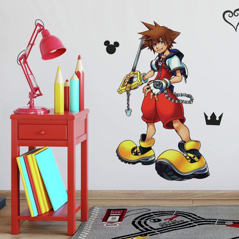 RoomMates Kingdom Hearts Sora Peel And Stick Giant Wall Decal