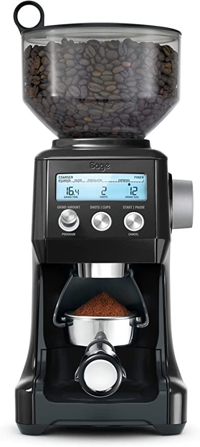 Sage Appliances the Smart Grinder Pro Molinos de café, Trufa negra ...