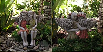 Amazoncom Best Friends Miniature Garden Fairies Outdoor Decor