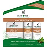 Vet's Best Flea & Tick Total Protection Kit for Dogs, 3 Pcs Set