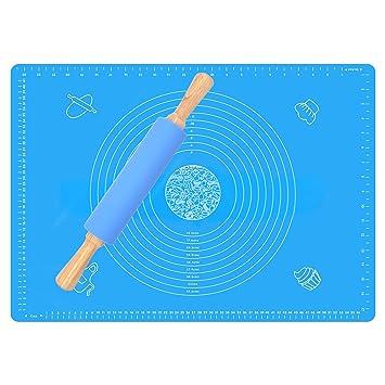 Non Stick Silikon Backmatte Extra Large Teig Rollen Gebäck Mats Küchenwerkzeug