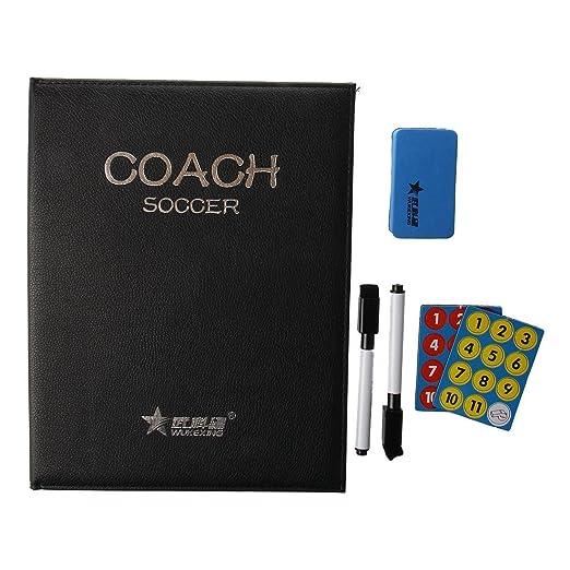 3 opinioni per allenatore di calcio- SODIAL(R)Scanner portatile per allenatore-Lavagna tattica
