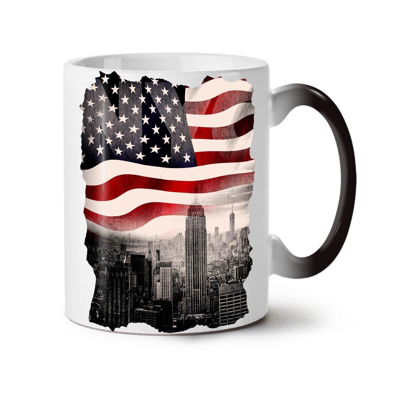 New York America NEW Colour Changing Tea Coffee Mug 11 ozWellcoda