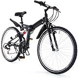 DOPPELGANGER 26インチ フォルダブルオフロードバイク 独自開発アイビーム・フレーム採用モデル X-ROUNDシリーズ ROAD BLOCK 711