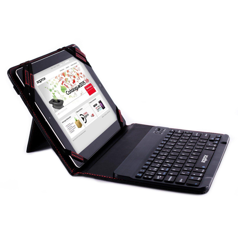Approx APPIPCK06 - Funda con Teclado Bluetooth para Tablets 9.7 ...