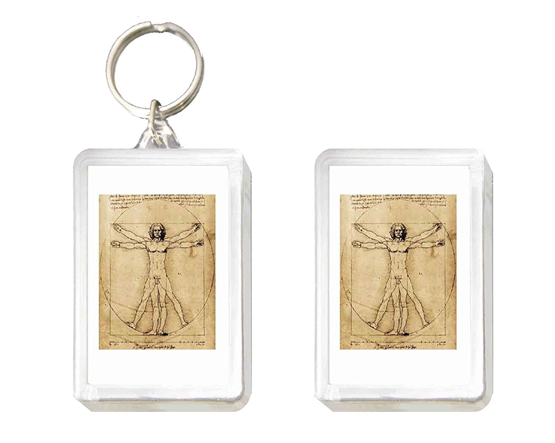 Llavero y Imán Leonardo da Vinci: Amazon.es: Juguetes y juegos
