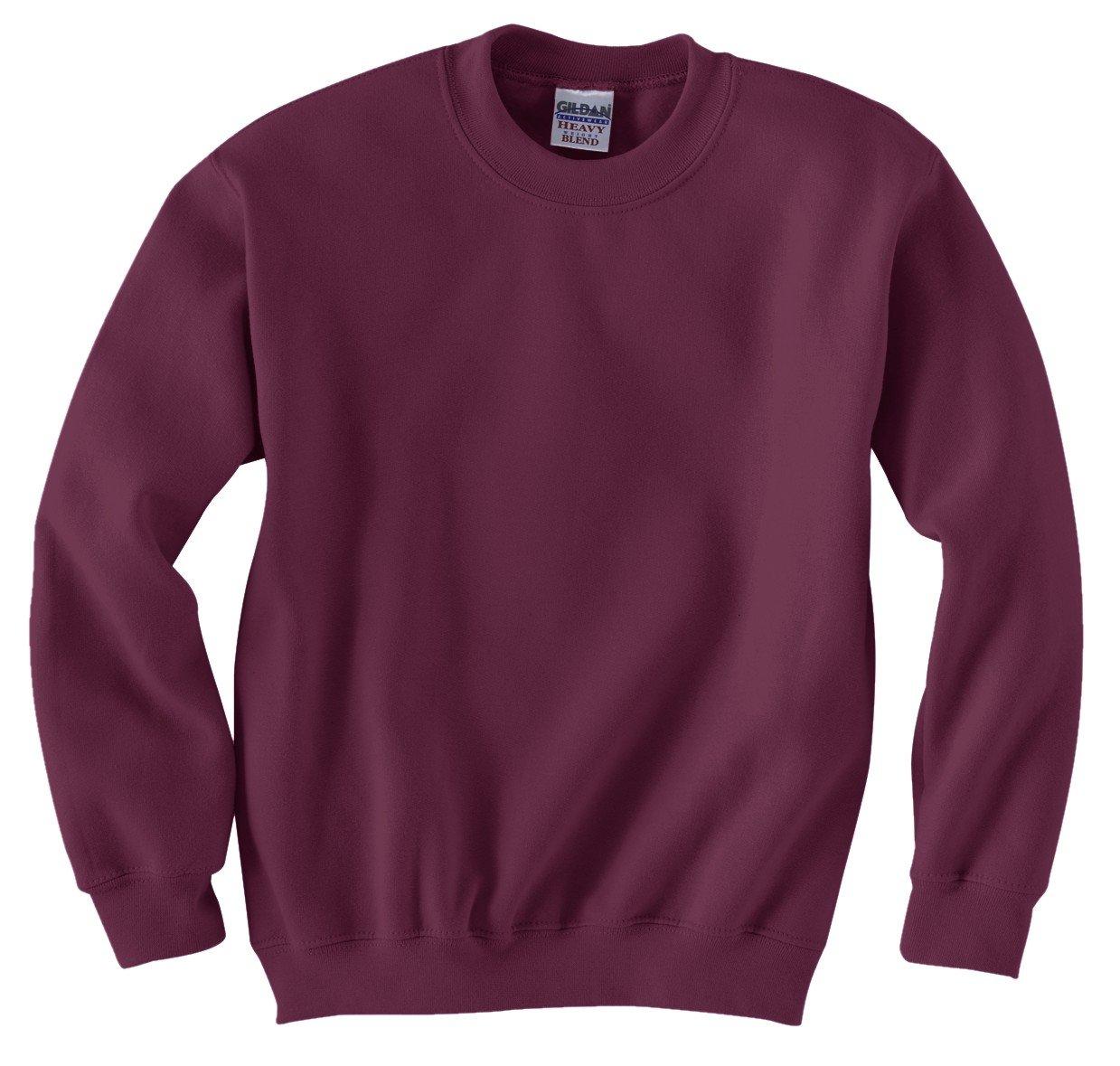 Gildan Heavy BlendTM Youth 8 oz., 50/50 Fleece Crewneck Sweatshirt 18000B
