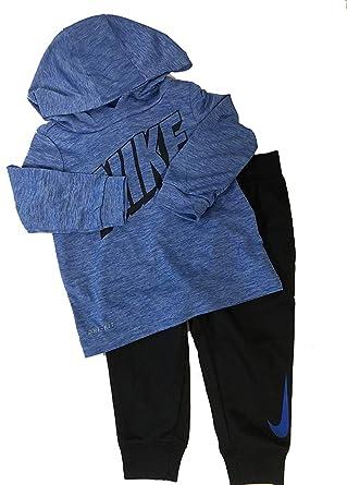 20187ee60 Amazon.com  Nike DRI-FIT Hoodie   Jogging Pants Set (Baby Boys ...
