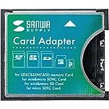 サンワサプライ SDXC用CF変換アダプタ ADR-SDCF1
