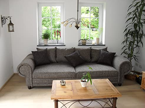 Xxl sofa kolonialstil  Big Sofa im Kolonialstil – Made in Germany – Freie Stoff und ...