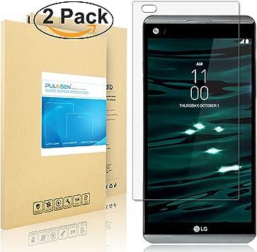 LG V20 Protector de Pantalla, PULESEN® [2-Pack] [Ultra Resistente ...