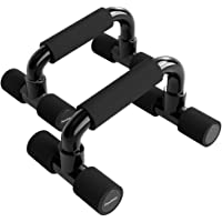 READAEER Push Up Bars Gym Exercise Equipment Fitness 1 Pair Pushup Handles with Cushioned Foam Grip and Non-Slip Sturdy…