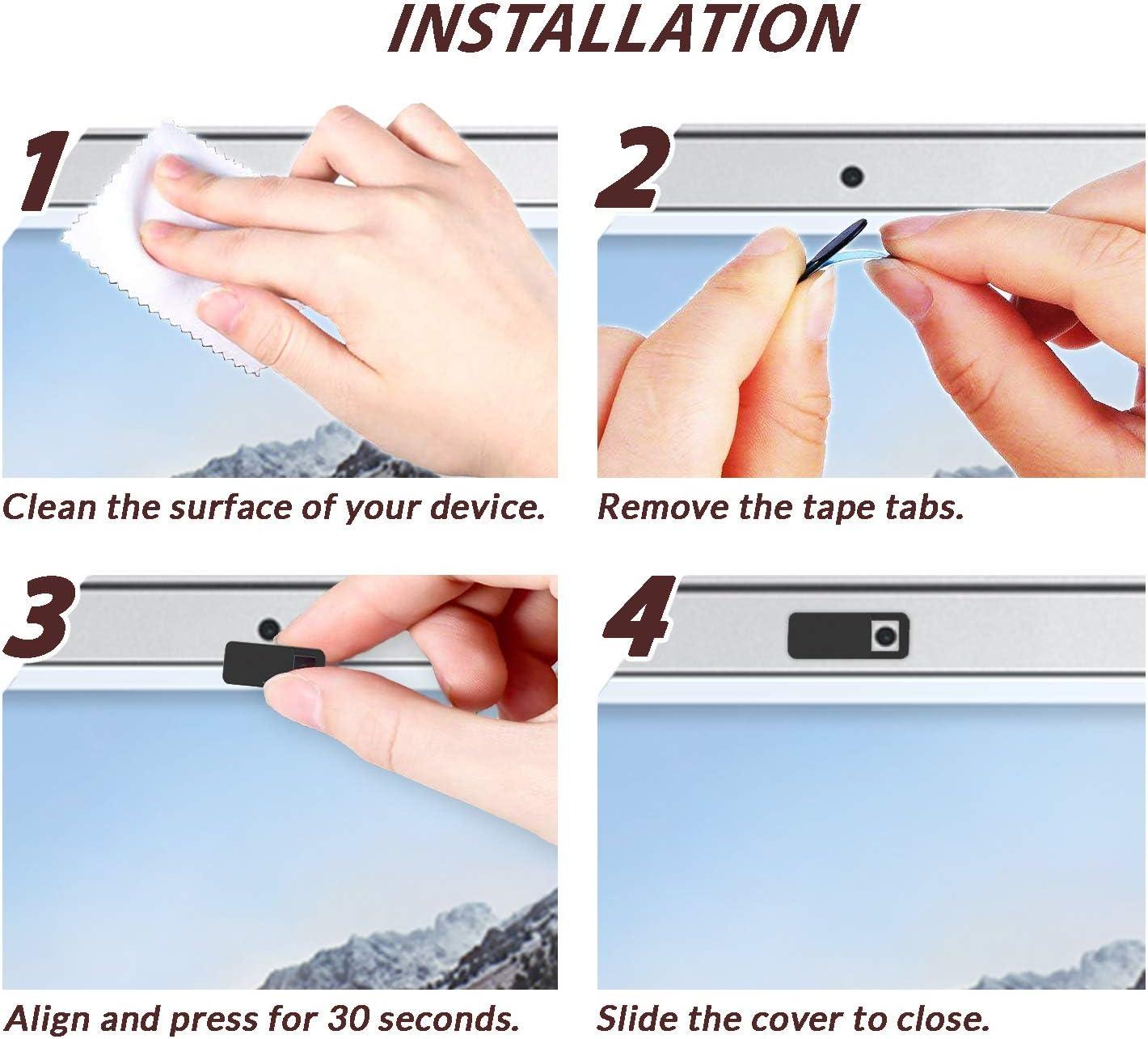 HP Deal4Shop Webcam Cover Slide Lenovo Surface Pro Ultra Thin ...
