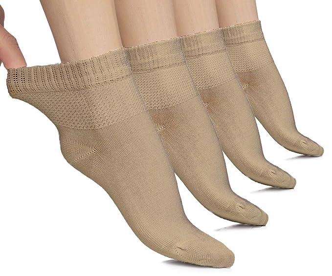 Amazon.com: Hugh Ugoli - Calcetines ligeros para diabéticos ...