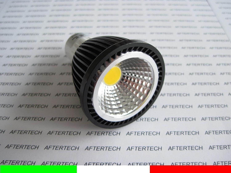 Aftertech® aftertech aftertech 10 x COB GU10 5 W Leuchtmittel LED 120 ° warmweiß 220 V Strahler Dichroitische