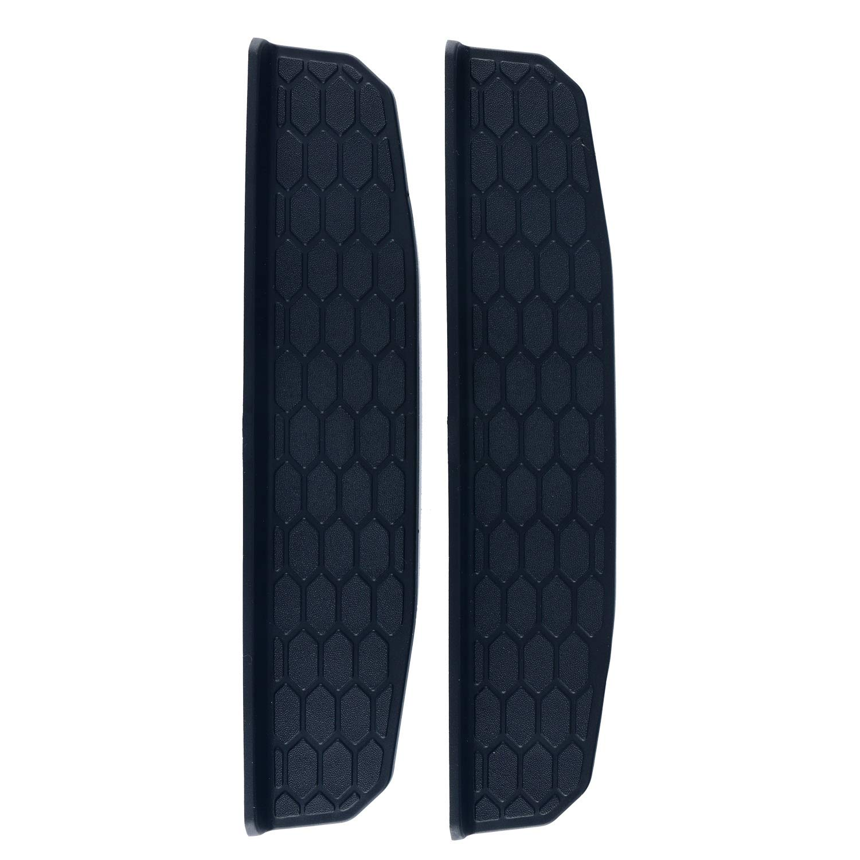 8MILELAKE 4 Door Black Molded Door Sill Guards Entry Guards Compatible for Jeep Wrangler freebirdtrading