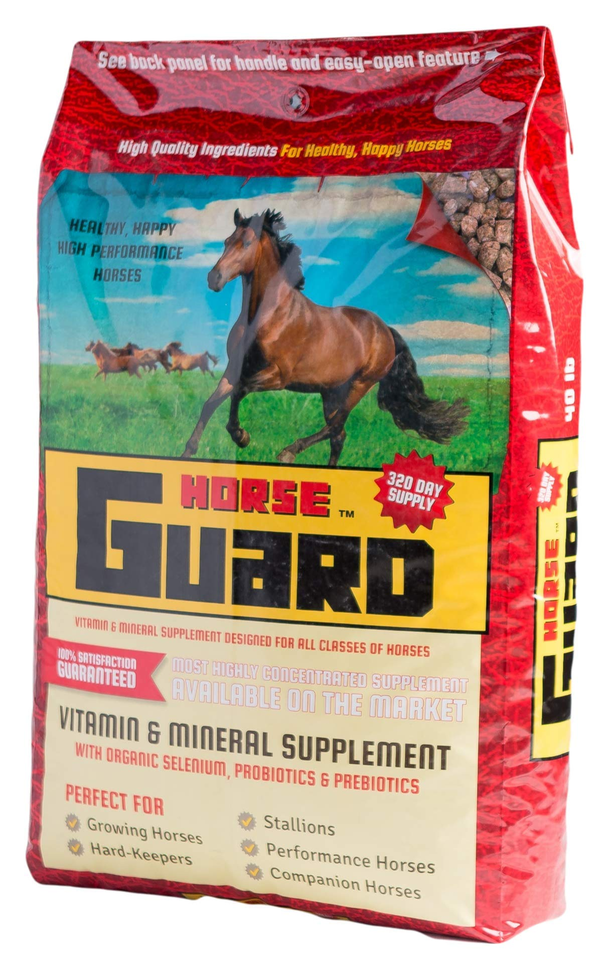 Horse Guard Equine Vitamin Mineral Supplement, 40lb by Horse Guard