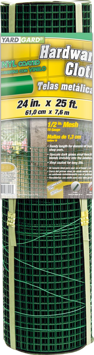 Amazon.com : Gilbert & Bennett 308258B YARDGARD Fence, 25 Foot Green : Outdoor Decorative Fences : Garden & Outdoor
