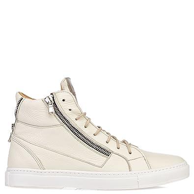 info for 38070 2df2c Hamlet Herren High-Top Leder Sneaker Beige, Größe 41: Amazon ...