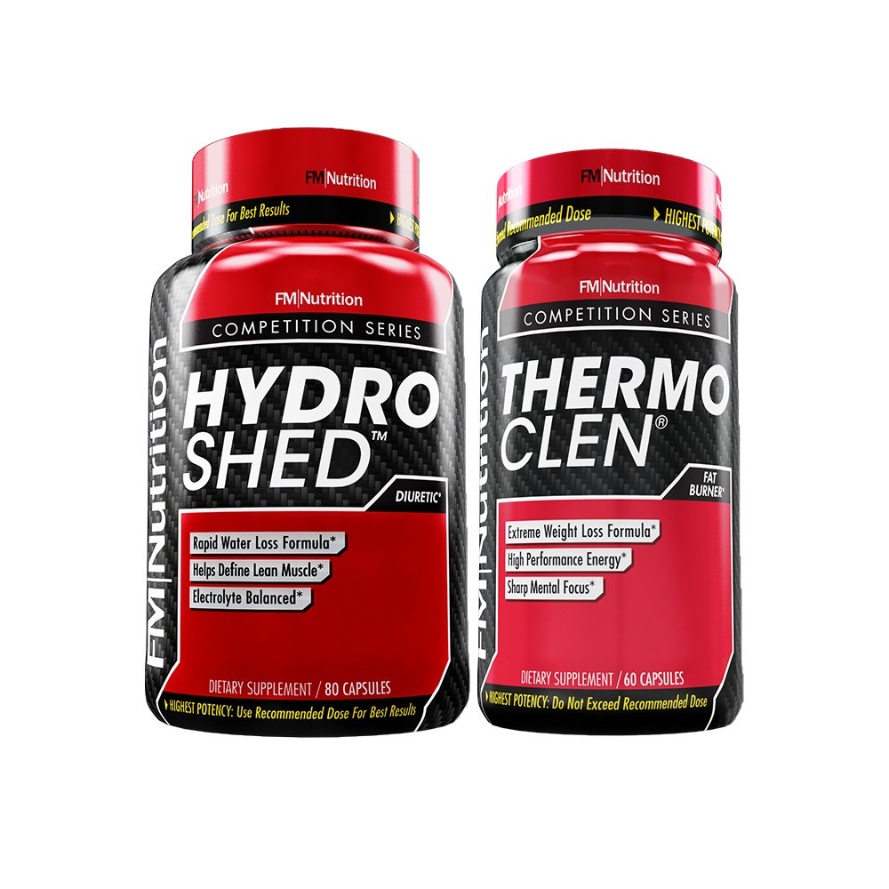 Extreme Weight Loss Bundle - ThermoClen(fat burner) - 1 Month Supply and Hydro Shed(water pill)-10 day supply