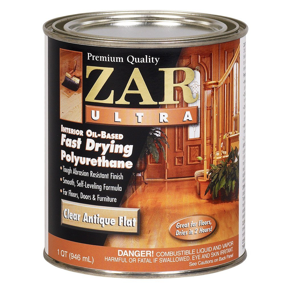 Minwax super fast drying polyurethane - Zar 33912 Antique Flat Ultra Fast Drying Polyurethane Household Varnishes Amazon Com