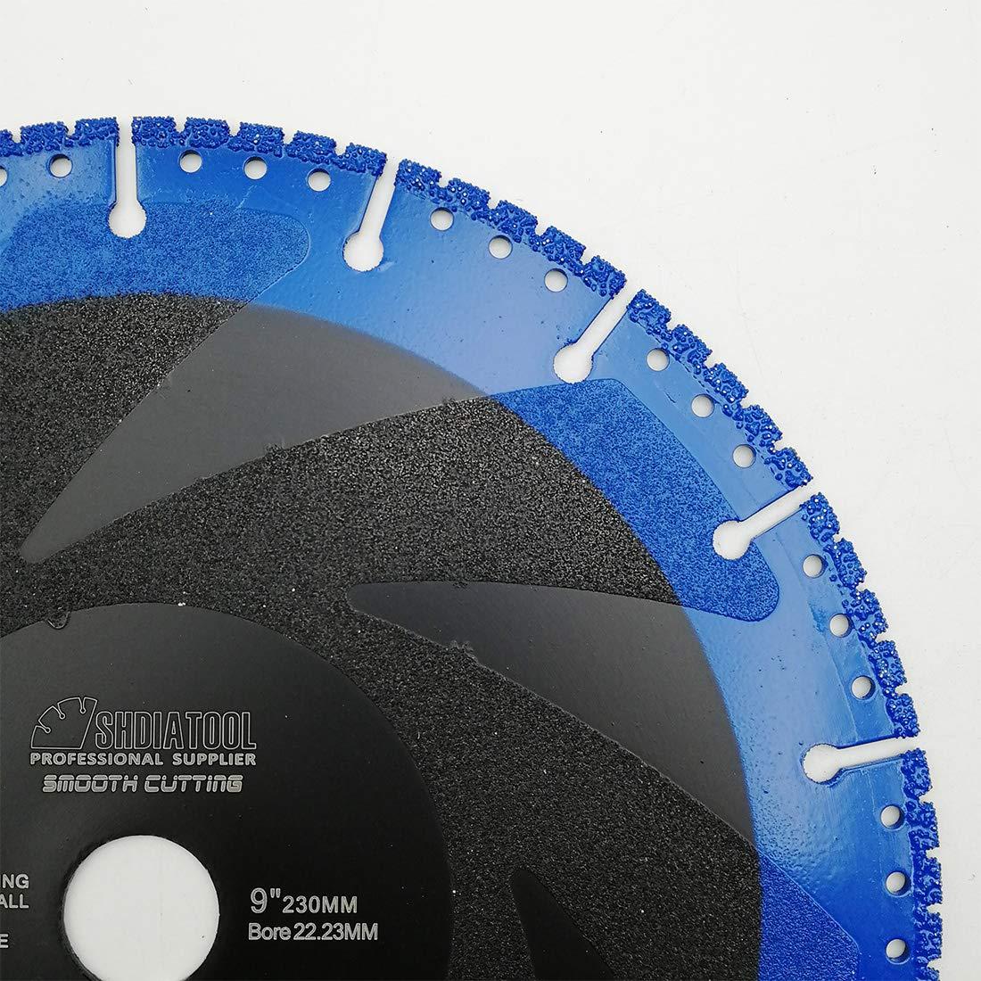 Hoja de Demolici/ón Para Granito M/ármol Hierro Di/ámetro 125mm Paquete de 2 DIATOOL Hoja de Diamante Soldada al Vac/ío para Multiprop/ósito