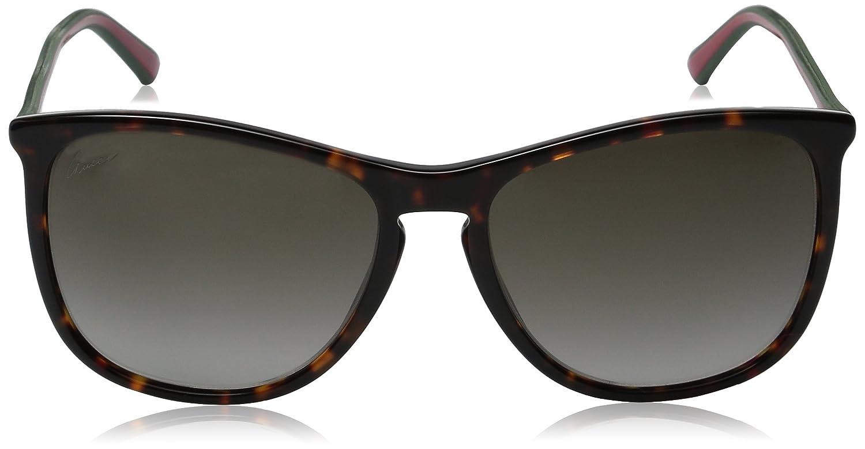 317ac494ce0 Gucci Sunglasses 3767 S HA 57 mm Havana  Amazon.co.uk  Clothing