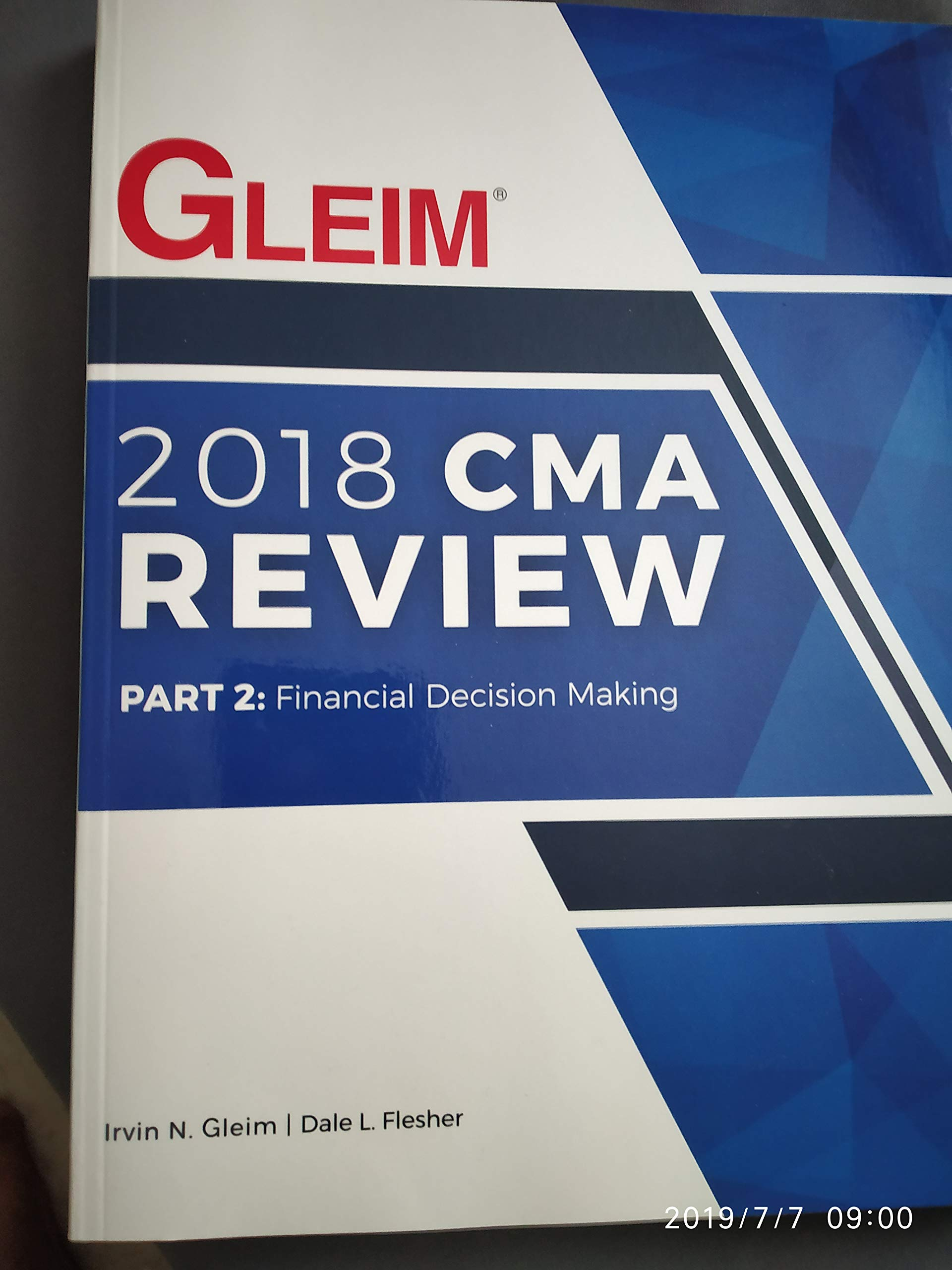 2018 CMA Review Part 2 Financial Decision Making: Irvin