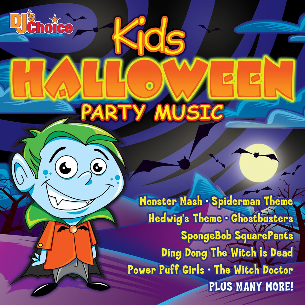 dj u0027s choice dj u0027s choice kids halloween party music amazon com