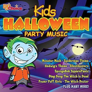 DJ's Choice - DJ's Choice Kids Halloween Party Music - Amazon.com ...