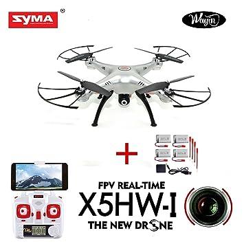 WayIn® Syma X5HW FPV Exploradores 2.4Ghz 6-Axis Gyro RC sin cabeza ...