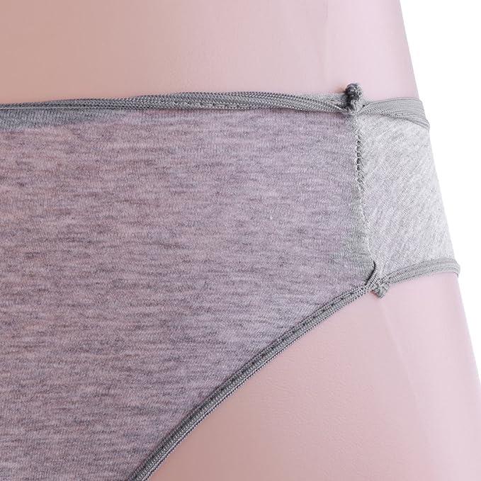Sharplace 5 Unidades Ropa Interior de Usar y Tirar para Hombres de Viaja Conveniente - gris L: Amazon.es: Salud y cuidado personal
