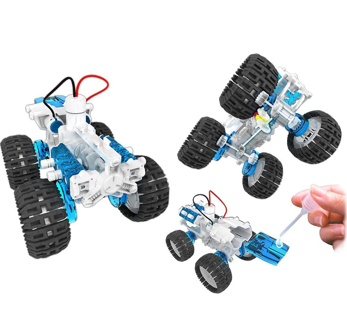 amazon com owi salt water fuel cell monster truck toys u0026 games