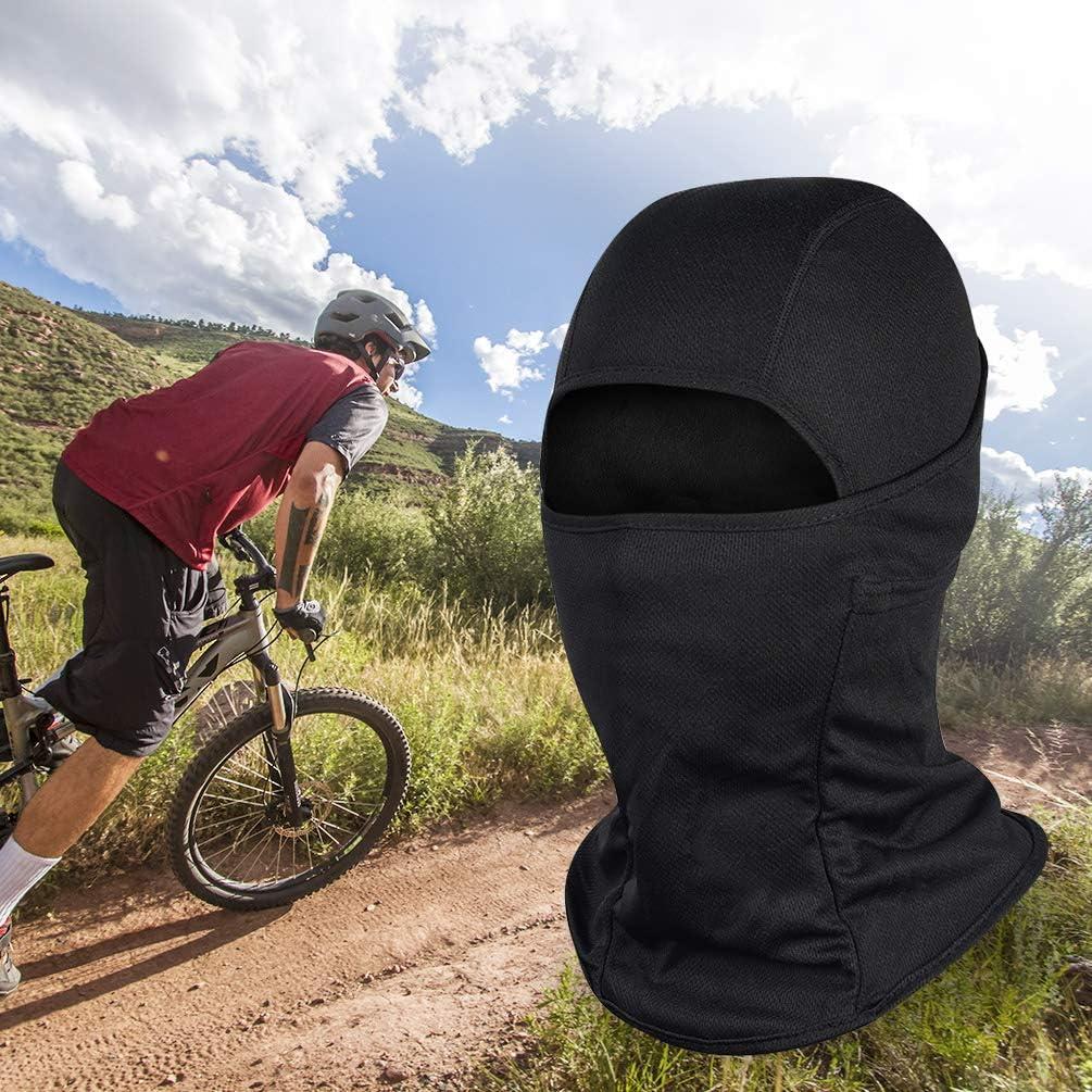 VBIGER Máscara facial completa de pasamontañas y calentador de ...