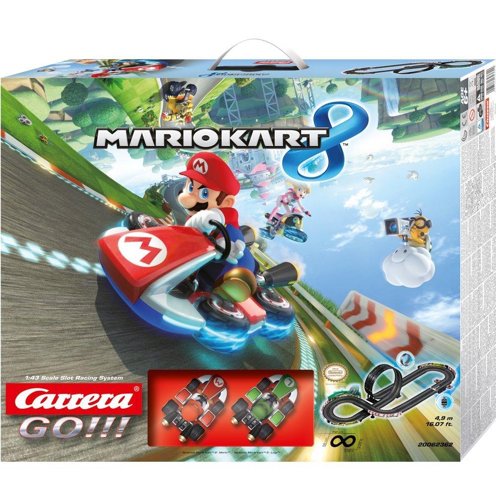 20062362 Pista Carrera GO!! MARIO KART 8-2 veicoli inclusi
