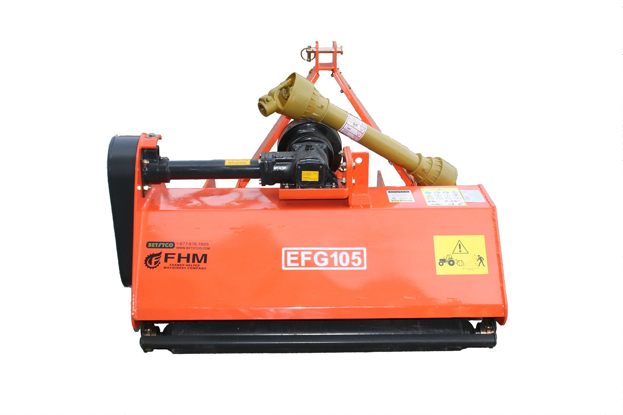 Farmer Helper 41'' Field 3pt Flail Mower Cat.I 3pt 16HP+ Rating (FH-EF105) by Farmer-Helper