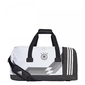 3f1076d9bf adidas Dfb Sports Bag, Black/White, 60 x 29 x 27 cm: Amazon.co.uk ...