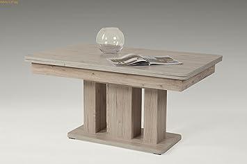 Couchtisch Wohnzimmertisch Tisch Adamo Höhenverstellbar Ausziehbar