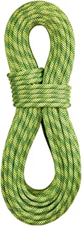 product image for BlueWater Ropes 9.7mm Lightning Pro Standard Dynamic Single Rope (Flavine/Sprout, 70M)