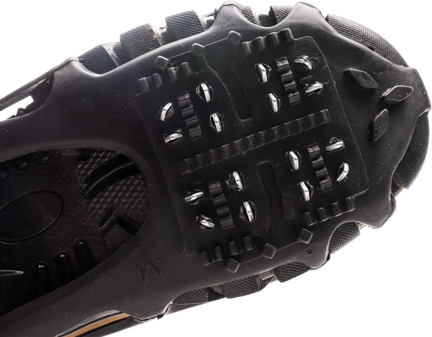 Wistar Ice Snow Grips,Ice /& Snow Crampons Traction Cleats for Shoe//Boot IC-20