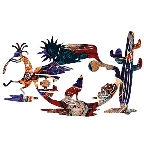 Amazon.com: Tapestry of the Southwest Metal Wall Art: Home & Kitchen