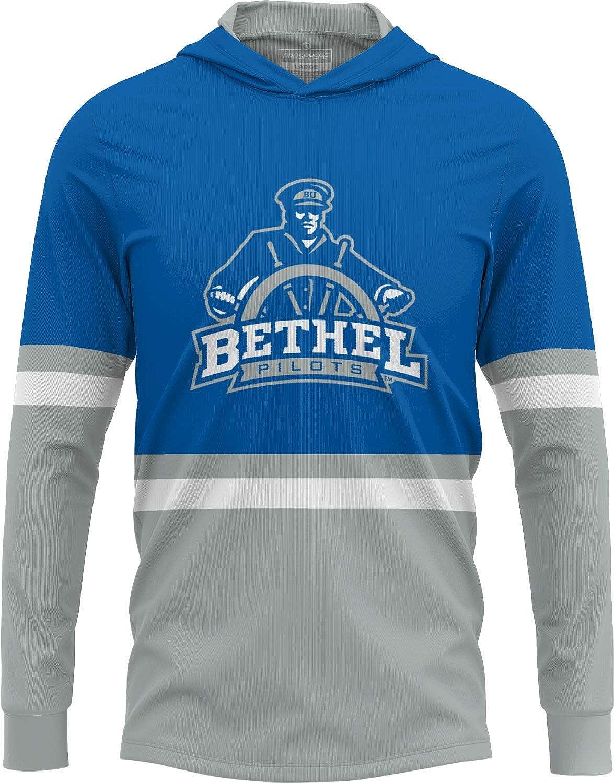 Showtime ProSphere Bethel College University Mens Long Sleeve Hooded Tee